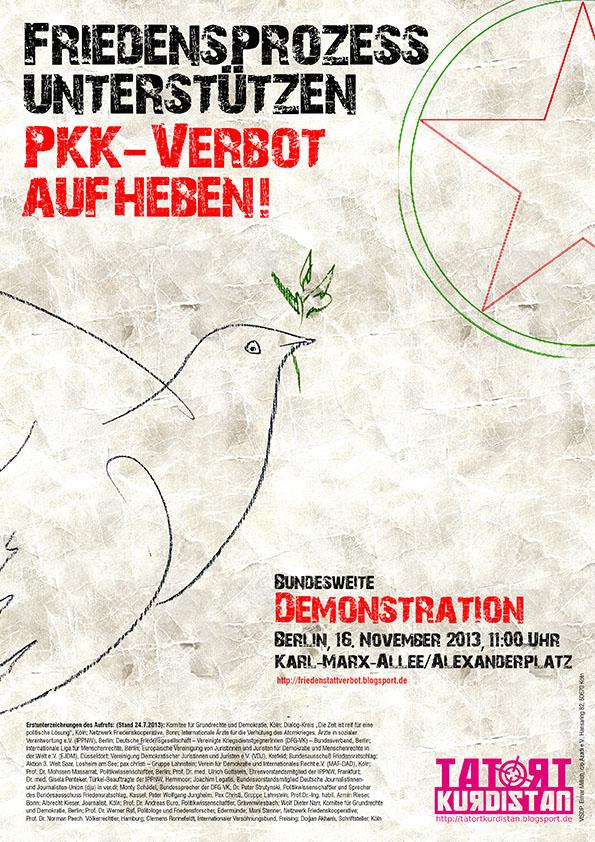 Demonstration 16.11.2013